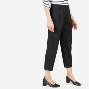 Everlane Slouchy Chino Pant in Black sz 8